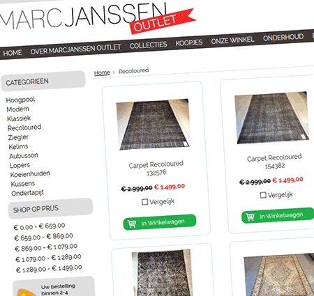 Marc Janssen outlet